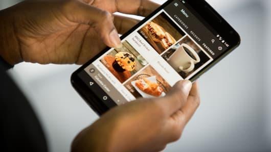Starbucks Mobile Order & Pay app